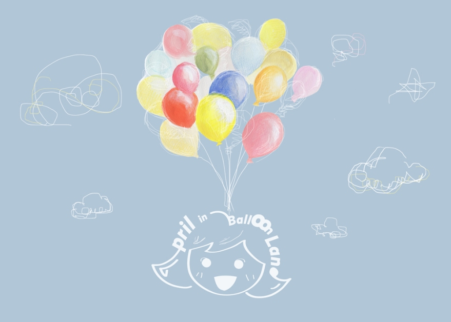 April in Balloon Land, title page, Sep 20th, 2015